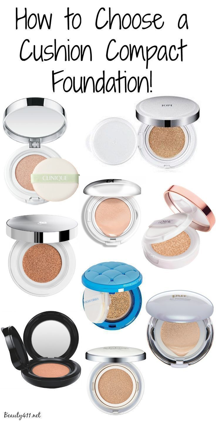 Guide to choosing a cushion compact foundation!