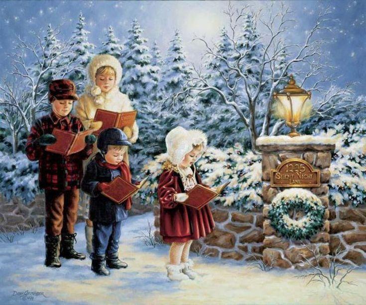 В ожидании Рождества от Dona Gelsinger.. Обсуждение на LiveInternet - Российский Сервис Онлайн-Дневников