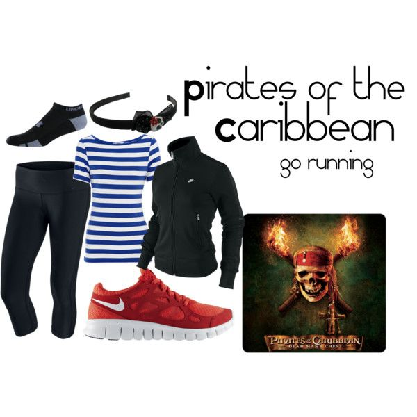 Pirates running outfit :)