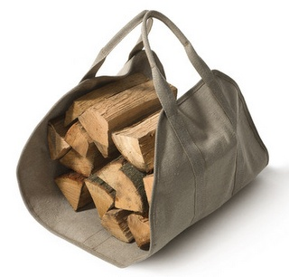camp, camping, fire, fireplace, firewood, firewood carrier, wood carrier, canvas carrier -mum needs this