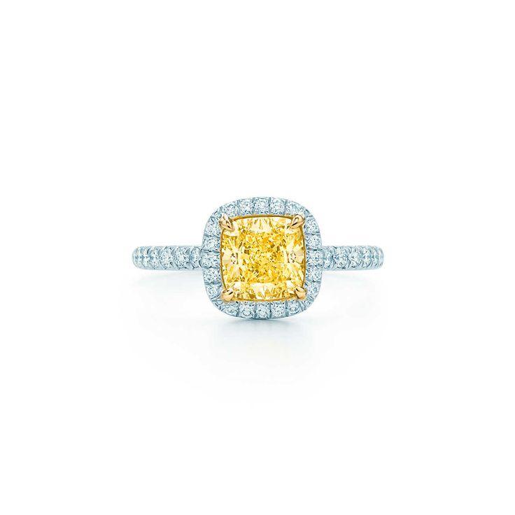 Tiffany Soleste:Anello con Diamante Giallo