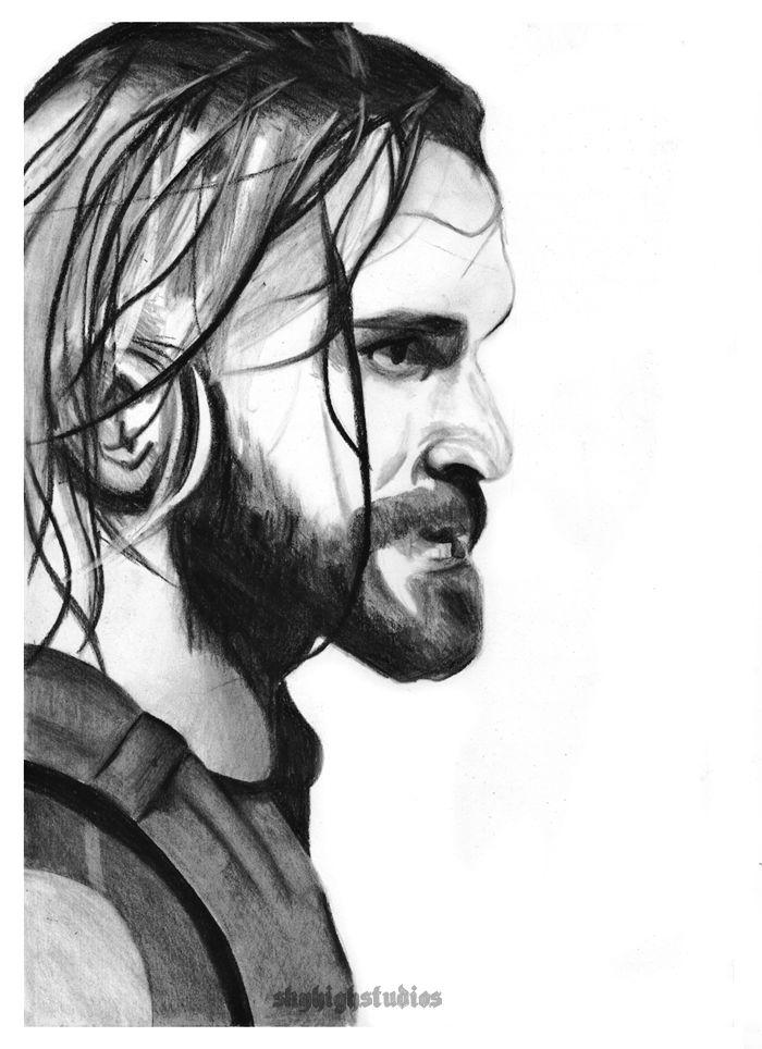 Linda On Wwe Seth Rollins Seth Rollins Drawings