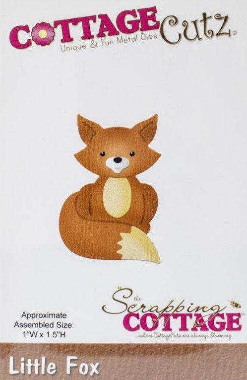 CC-042  Cottage Cutz Die Little Fox