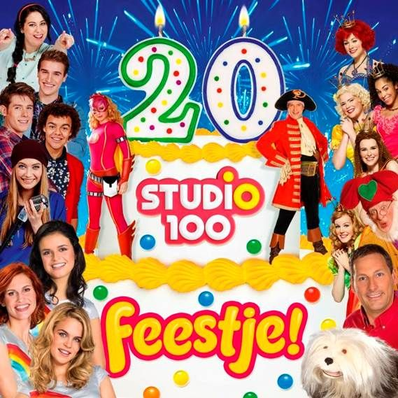 Studio 100 viert het 20-jarig jubileum met feestnummer van alle Studio 100…