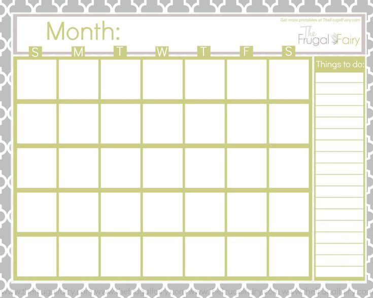 The 25+ best Blank calender ideas on Pinterest Free blank - appointment calendar templates