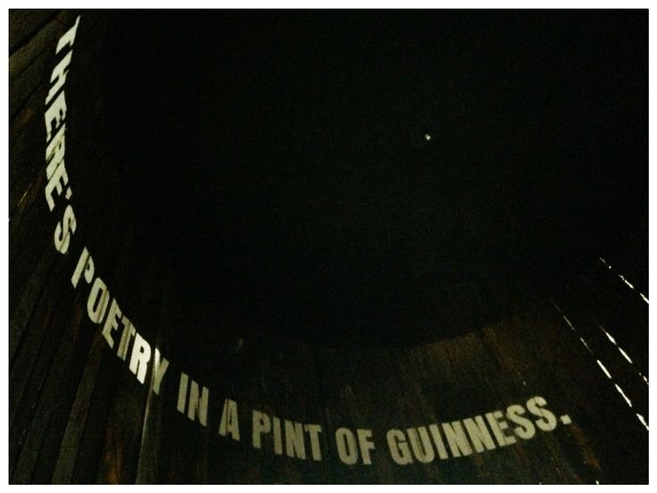 there's a poetry in beer
