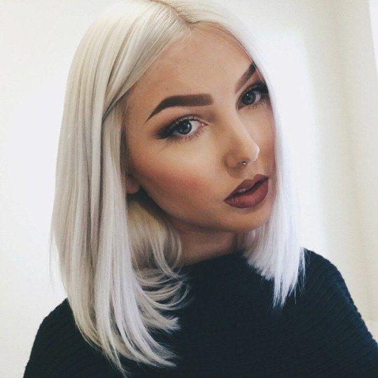 белые волосы - Поиск в Google