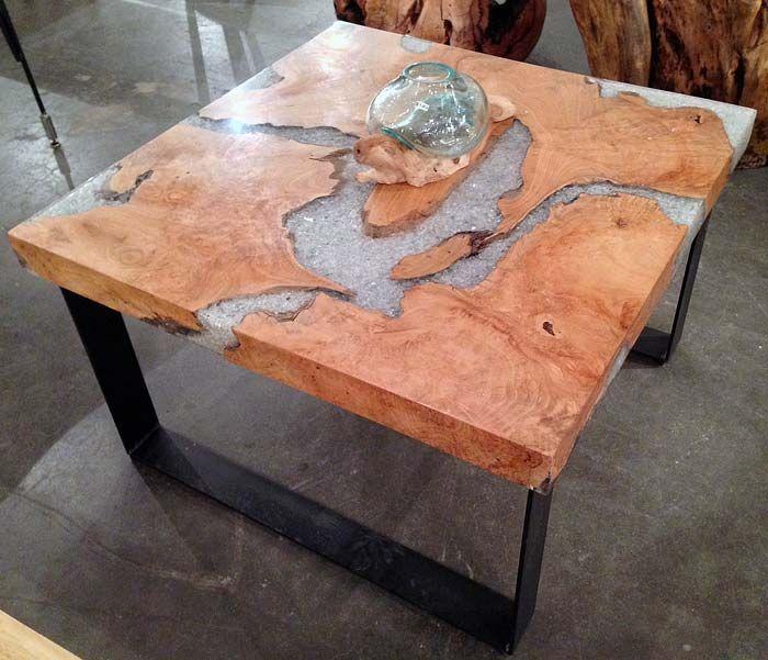 Coffee Table Teak Live Edge: 50 Best Reclaimed Teak Furniture Images On Pinterest