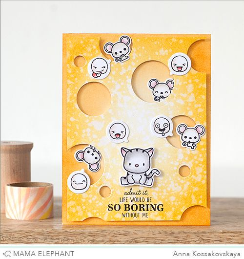 mama elephant | design blog: STAMP HIGHLIGHTS : LITTLE EMOTIONS