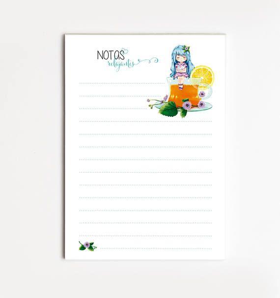 """Bloc de Notas  A6 """"POLEO"""", Lista de Tareas, Lista de la Compra, Organizador, Papelería bonita, Naibloc"""