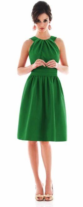 Emerald Halter Dress.   Nice for a wedding