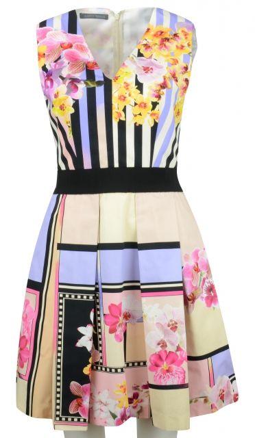 Floral Dress by Alberta Ferretti