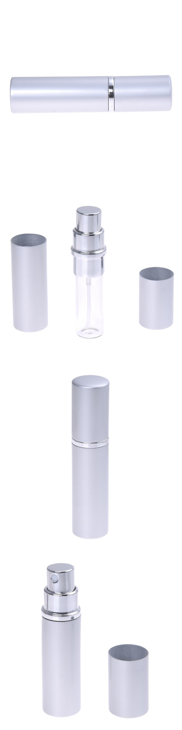 5ml Silver Travel Perfume Aftershave Atomizer Atomiser Spray Bottle