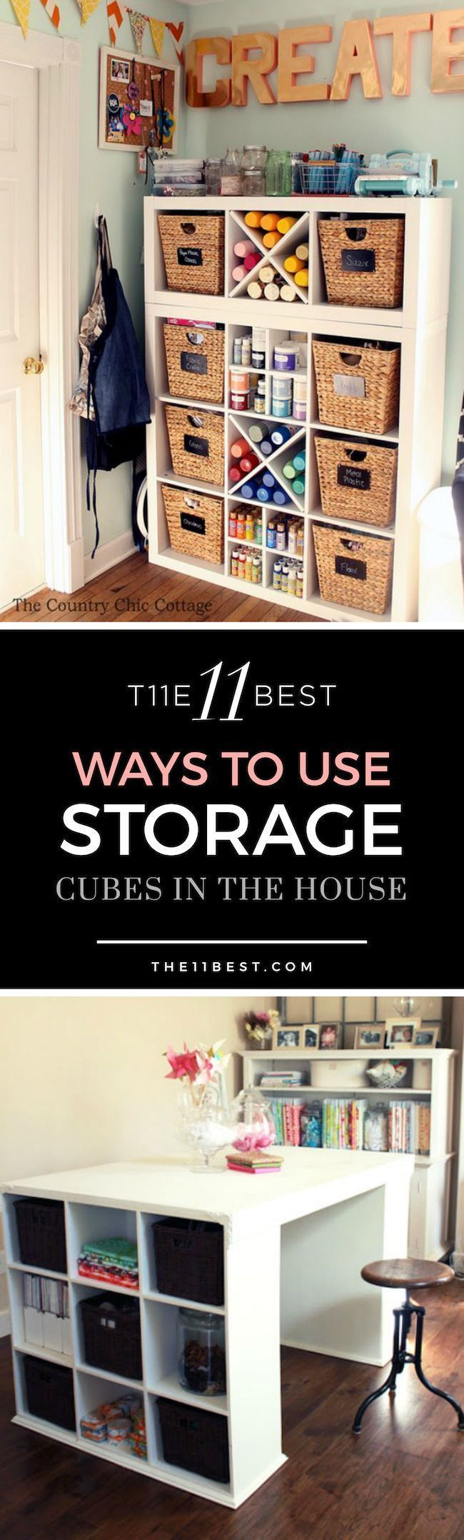 The 11 Best Ways To Use Storage Cubes