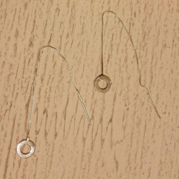 Silver Threader / Ketting / Zilverdraad / Hangende door ToortjeRocks