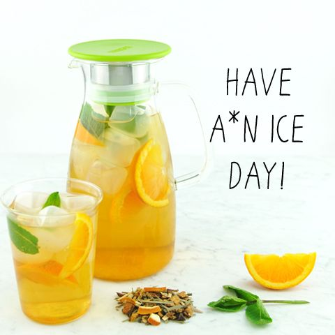 make your own iced tea with herbal tea .summer in the city. from www.teastreet.nl