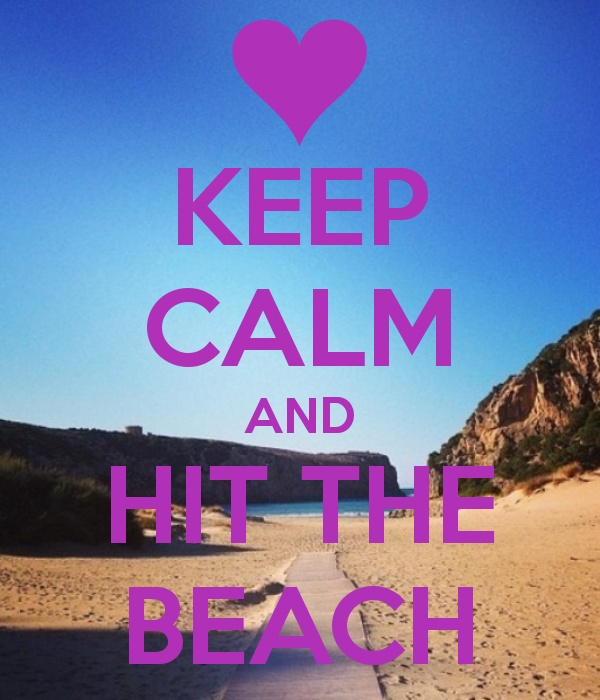 Keep calm and hit the beach from PurpleTravel.co.uk