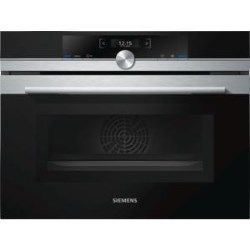 Siemens CM633GBS1B 1000W 45L Built-in Combination Microwave Oven Stainless Steel