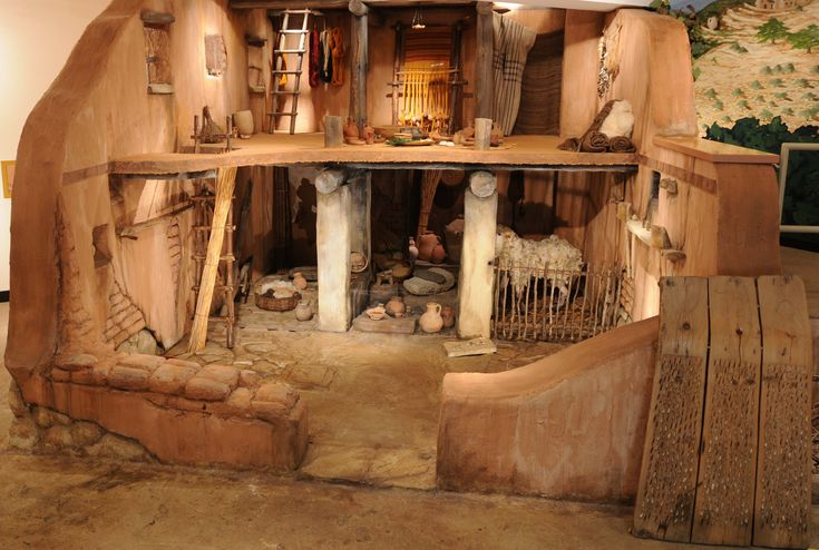 ask about the construction of homes of the isrealites and the purpose behind the design  The Houses of Ancient Israel Exhibition