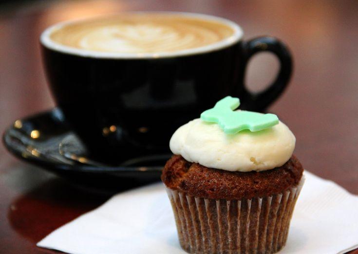 Kaffe med god muffins