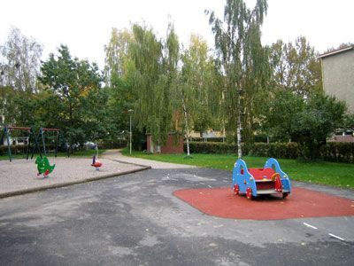 Playgrounds in central lahti