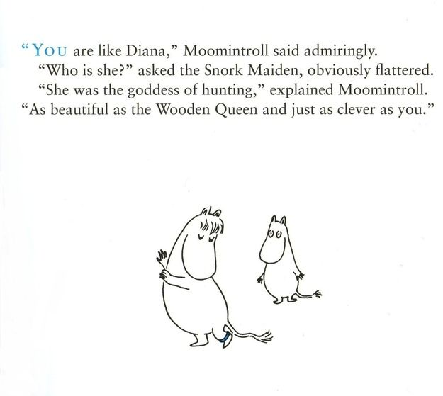 A Moomintroll must know how to compliment a Snork Maiden properly. | 50 Lessons That Moomins Can Teach You About Life