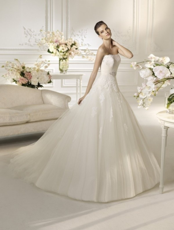 ROBE DE MARIEE WHITE ONE NIMBO  Weddinspirations - Bride  Pinterest