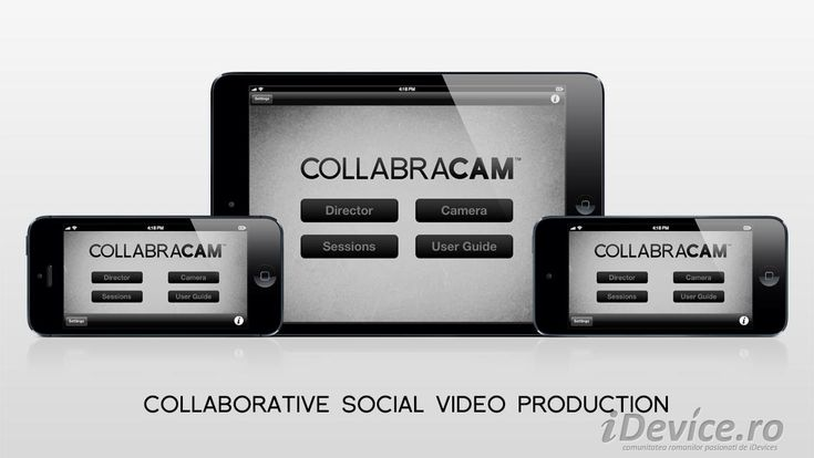 Collabracam ne permite sa editam clipuri video pe multiple iDevice-uri simultan, este disponibila GRATUIT in App Store