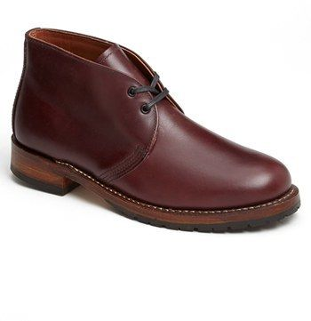 $350, Red Wing Shoes Red Wing Beckman Chukka Boot. Sold by Nordstrom. Click for more info: https://lookastic.com/men/shop_items/141957/redirect