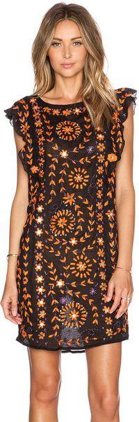 Antik Batik Barbade Embellished Dress