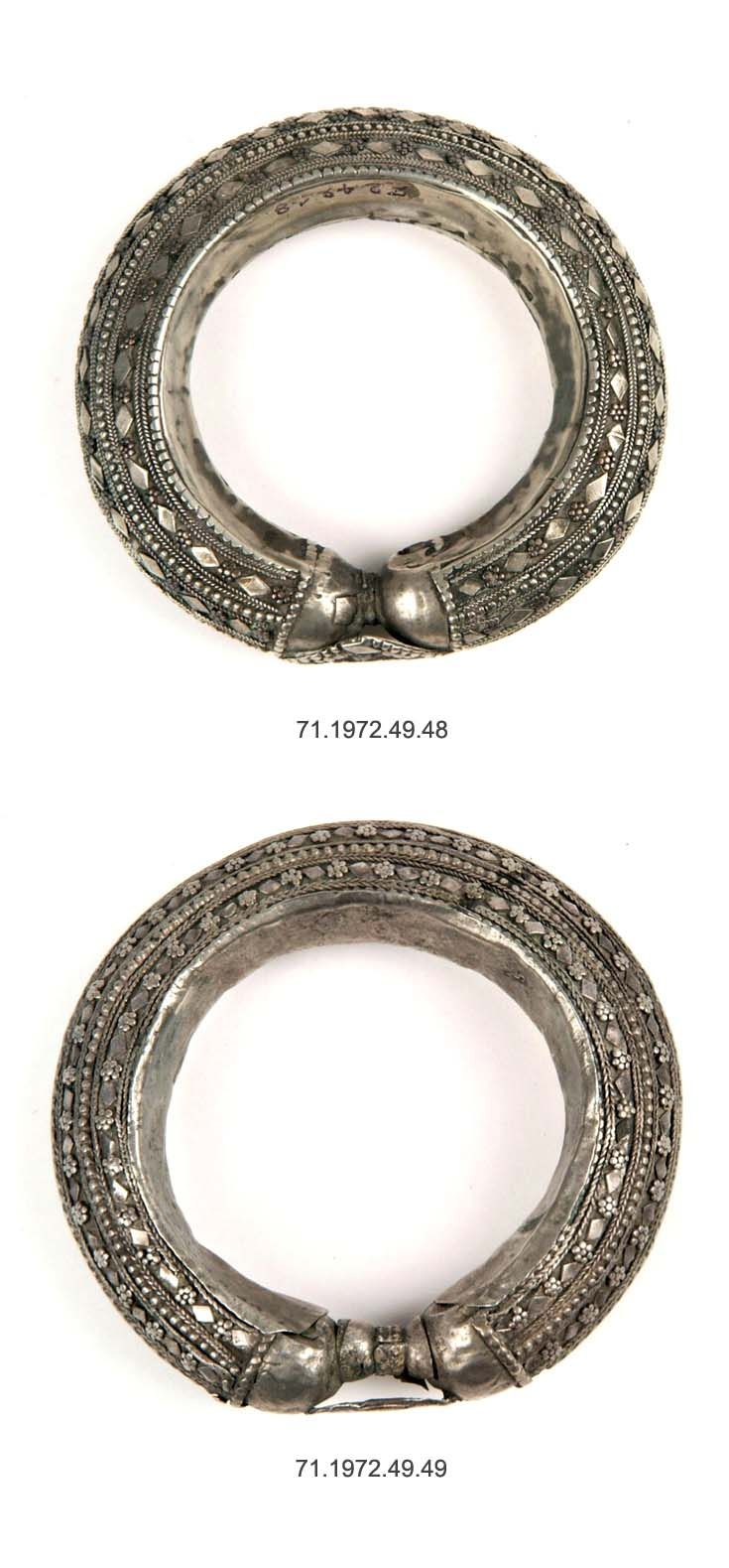 yemen taiz bracelets meska silver ca early 20th. Black Bedroom Furniture Sets. Home Design Ideas