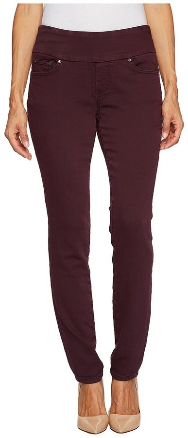 Jag Jeans Petite - Petite Nora Pull-On Skinny in Knit Denim Women's Jeans