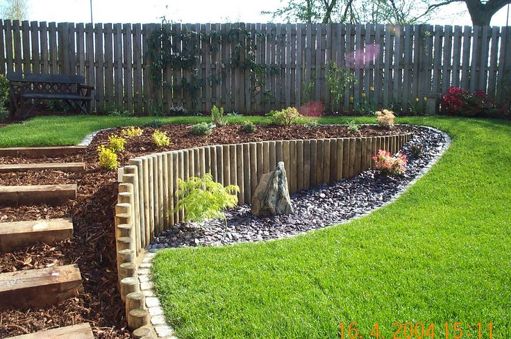 A sloping garden built by Wyld Landscapes | This garden was … | Flickr