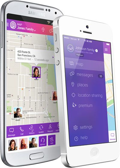 The Life360 app is a great way to keep in touch with your teens w/out embarrassing them. :)