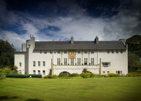 House for an Art Lover - Designed by the internationally acclaimed Scottish architect Charles Rennie Mackintosh.  Located at Bellahouston Park, 10 mins from Glasgow City Centre