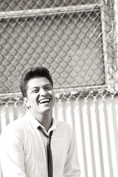 Bruno smiling