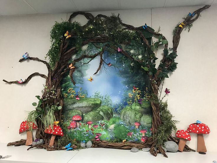 Beautiful Library Decoration For Enchanted Forest