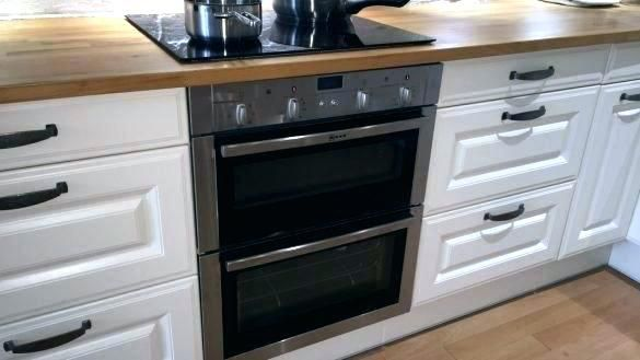 Double Built Under Oven In Island Double Oven Built Under Ovens Wall Oven