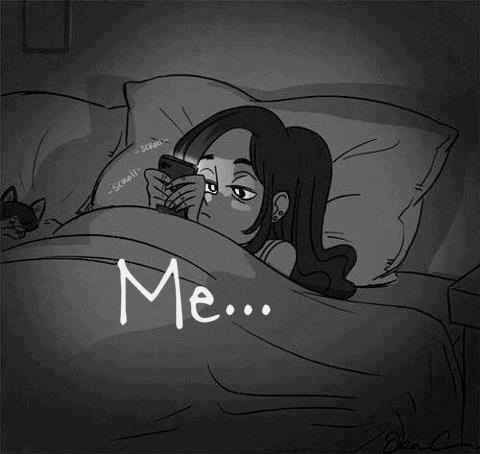 Not necessarily. I'm laying in bed just watching anime on my iPad.