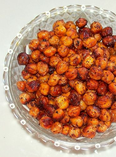 Chili Toasted Chickpeas