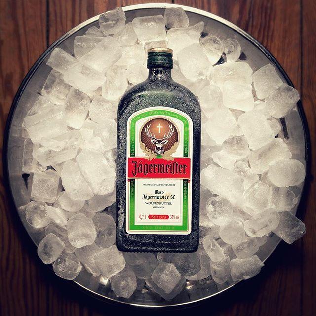 WEBSTA @ jagermeister - Favorite party guest: the icy Meister! #Jägermeister #Jagermeister #Jagerlove #partytime #shots #bottle