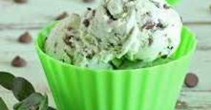 Choc-mint Ice-cream