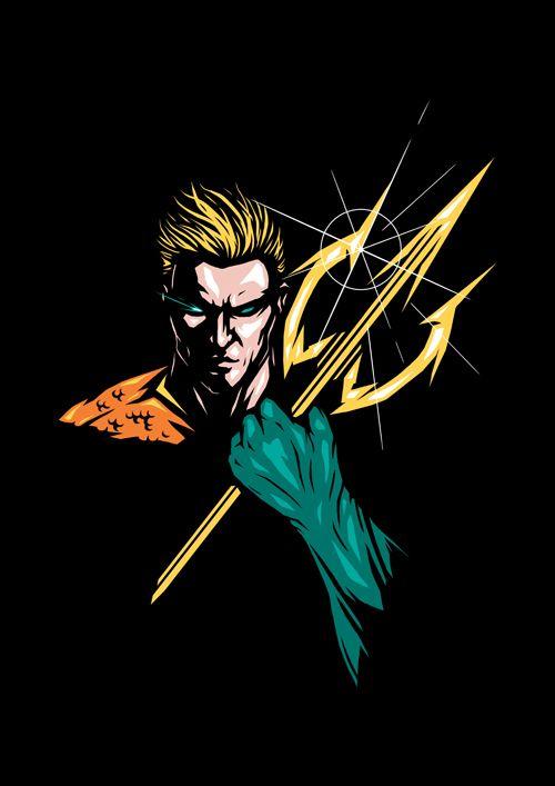 DC Superheroes Series on Behance