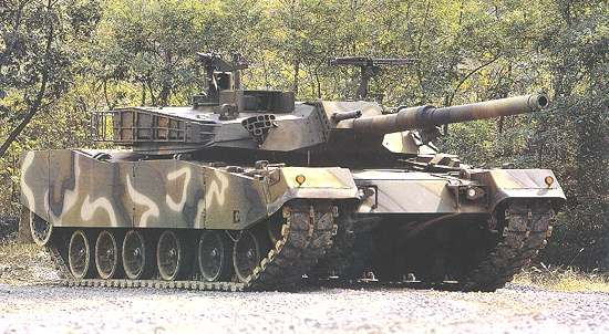 K1A1 Main Battle Tank, South Korea  The K1 main battle tank has been in service with the Republic of Korea Army since 1986.