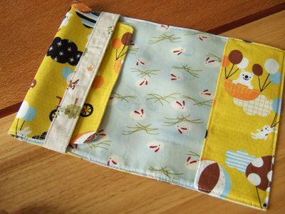 fabric bookcover