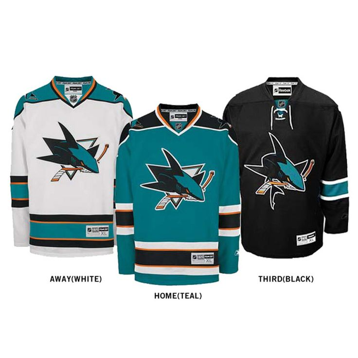 San Jose Sharks Jersey's I really appreciate the fact that the Sharks have such great colors. Makes putting game day outfits together fun!