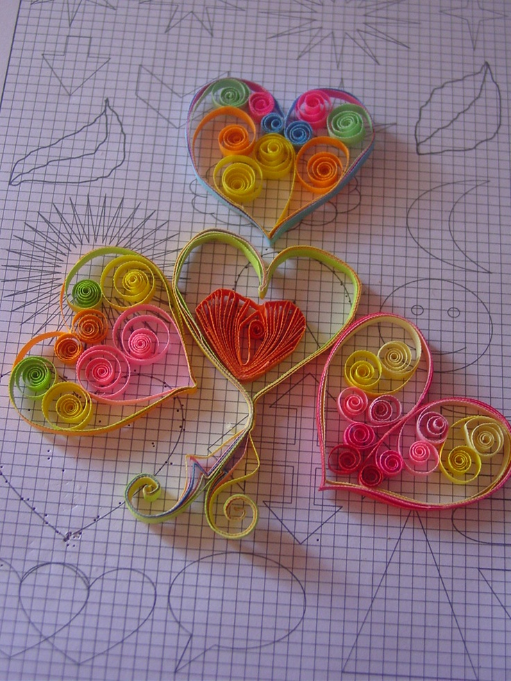 Quilling quilled flowers quill paper craft quilling for Quilling paper craft