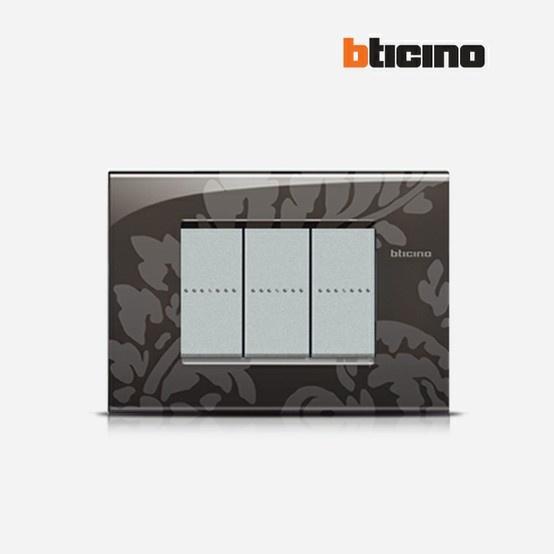 Livinglight Air Ramage #BTicino #placca #design #style #flower
