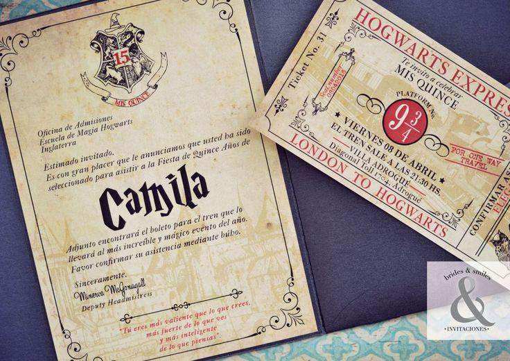 Camila es una verdadera fan de Harry Potter. Cuando nos visitó en nuestro showroom nos contó que su sueño era una fiesta de 15 años temática. Y por supuesto el tema tenía que ser Harry Potter. A pa…