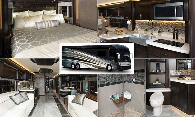 Inside the $700,000 luxury RV that's as big as a coach: